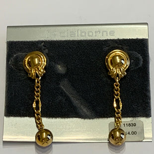 Primary Photo - BRAND: LIZ CLAIBORNE O STYLE: EARRINGS COLOR: GOLD OTHER INFO: SQUARES SKU: 150-150112-26216
