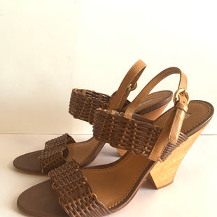 Primary Photo - BRAND: VIA SPIGA STYLE: SHOES DESIGNER COLOR: CAMEL SIZE: 10 OTHER INFO: AS IS SKU: 150-150154-57364 1/2 INCHES
