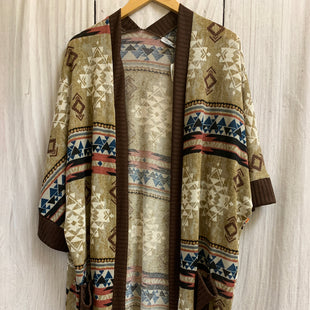 Primary Photo - BRAND: WHITE BIRCH STYLE: SHAWL COLOR: MULTI SIZE: XL SKU: 150-150112-25930POCKETS