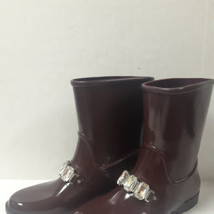 Primary Photo - BRAND: MICHAEL BY MICHAEL KORS STYLE: BOOTS ANKLE COLOR: PLUM SIZE: 7 OTHER INFO: AS IS/ SILVER BEADS SKU: 150-150112-26403