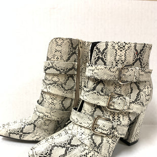 Primary Photo - BRAND:    CLOTHES MENTOR STYLE: BOOTS ANKLE COLOR: SNAKESKIN PRINT SIZE: 7.5 OTHER INFO: AS IS/ TRIPLE BUCKLE SKU: 150-150112-22090SIDE ZIP4 INCHES