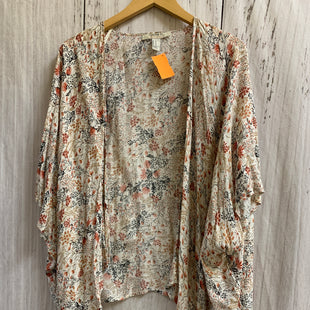 Primary Photo - BRAND: FOREVER 21 STYLE: SHAWL COLOR: FLORAL SIZE: M SKU: 150-15047-150435