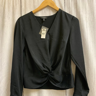 Primary Photo - BRAND: EXPRESS STYLE: TOP LONG SLEEVE COLOR: BLACK SIZE: PETITE   SMALL OTHER INFO: NEW! SKU: 150-15098-39319