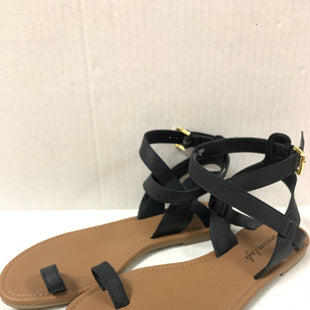 Primary Photo - BRAND: AMERICAN EAGLE STYLE: SANDALS FLAT COLOR: BLACK SIZE: 8 SKU: 150-15047-147781