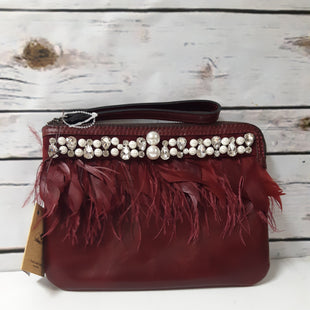 Primary Photo - BRAND: PATRICIA NASH STYLE: CLUTCH COLOR: RED SIZE: 01 PIECE OTHER INFO: NEW! FEATHERS & PEARLS SKU: 150-150112-22902