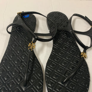 Primary Photo - BRAND: TORY BURCH STYLE: SHOES DESIGNER COLOR: BLACK SIZE: 11 SKU: 150-15047-146074