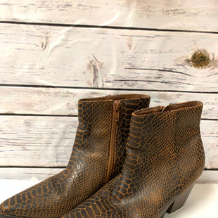 Primary Photo - BRAND: COCONUTS STYLE: BOOTS ANKLE COLOR: ANIMAL PRINT SIZE: 6 OTHER INFO: BROWN SKU: 150-15047-140480