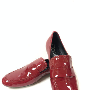 Primary Photo - BRAND: CALVIN KLEIN STYLE: SHOES FLATS COLOR: RED SIZE: 7.5 SKU: 150-150131-13721