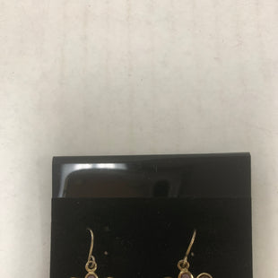Primary Photo - BRAND:    CLOTHES MENTOR STYLE: EARRINGS COLOR: GOLD SIZE: 1 OTHER INFO: PURPLE AND BLUE FLOWER SKU: 150-15047-150887