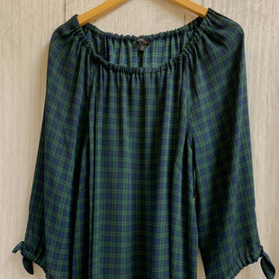 Primary Photo - BRAND: TALBOTS STYLE: TOP LONG SLEEVE COLOR: YELLOW SIZE: 3X OTHER INFO: NAVY/GREEN PLAID SKU: 150-150131-8660