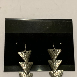 Primary Photo - BRAND:    CLOTHES MENTOR STYLE: EARRINGS COLOR: SILVER SIZE: 1 OTHER INFO: UPSIDE DOWN TRIANGLES SKU: 150-15047-148934