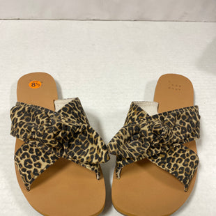 Primary Photo - BRAND: A NEW DAY STYLE: SANDALS FLAT COLOR: ANIMAL PRINT SIZE: 8.5 OTHER INFO: BOW SKU: 150-150154-4310