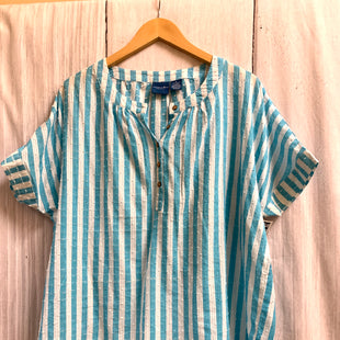 Primary Photo - BRAND: CARIBBEAN JOE STYLE: TOP SHORT SLEEVE COLOR: STRIPED SIZE: XL SKU: 150-150112-25714