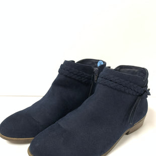 Primary Photo - BRAND:    CLOTHES MENTOR STYLE: BOOTS ANKLE COLOR: BLUE SIZE: 6 OTHER INFO: CAT AND JACK - AS IS SKU: 150-150119-9118SUEDE
