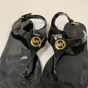 Primary Photo - BRAND: MICHAEL BY MICHAEL KORS STYLE: SANDALS FLAT COLOR: BLACK SIZE: 8 SKU: 150-15098-39046