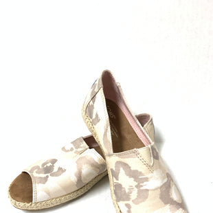 Primary Photo - BRAND: TOMS STYLE: SHOES FLATS COLOR: BEIGE SIZE: 7 OTHER INFO: WHITE SKU: 150-15047-142536