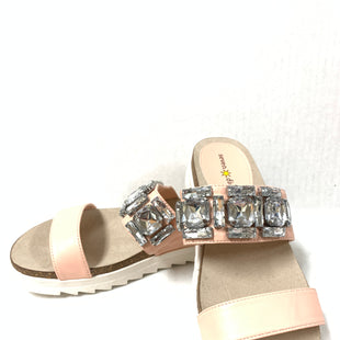 Primary Photo - BRAND:    CLOTHES MENTOR STYLE: SANDALS FLAT COLOR: LIGHT PINK SIZE: 8.5 OTHER INFO: SEVEN DIALS - FAT DIAMONDS SKU: 150-150112-23225