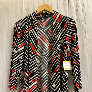 Primary Photo - BRAND: KASPER STYLE: SHAWL COLOR: BLACK WHITE SIZE: M OTHER INFO: NEW! SKU: 150-150135-1425