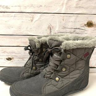Primary Photo - BRAND: COLUMBIA STYLE: BOOTS ANKLE COLOR: GREY SIZE: 9 SKU: 150-15098-36229