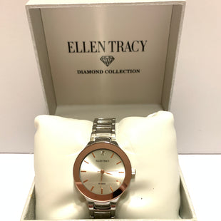 Primary Photo - BRAND: ELLEN TRACY STYLE: WATCH COLOR: SILVER SKU: 150-15098-37009