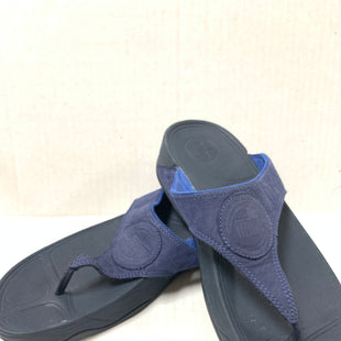 Primary Photo - BRAND: FITFLOP STYLE: SANDALS FLAT COLOR: NAVY SIZE: 11 SKU: 150-150131-14579