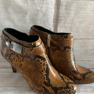 Primary Photo - BRAND: VINCE CAMUTO STYLE: BOOTS ANKLE COLOR: ANIMAL PRINT SIZE: 7.5 SKU: 150-15047-137864SIDE ZIP NEVER WORN