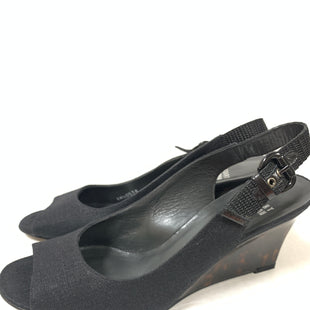 Primary Photo - BRAND: STUART WEITZMAN STYLE: SANDALS LOW COLOR: BLACK SIZE: 8.5 OTHER INFO: DESIGNER SKU: 150-150135-2896