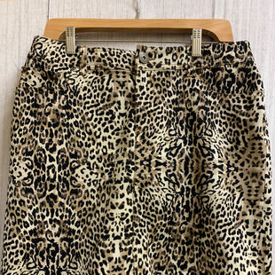 Primary Photo - BRAND: INC STYLE: SKIRT COLOR: ANIMAL PRINT SIZE: 10 SKU: 150-150112-23053JEAN SKIRT