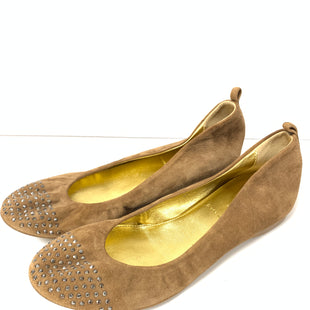 Primary Photo - BRAND: J CREW STYLE: SHOES FLATS COLOR: BROWN SIZE: 5 OTHER INFO: GEMS SKU: 150-150112-23071SUEDE