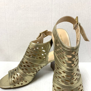Primary Photo - BRAND: LIZ CLAIBORNE STYLE: SANDALS LOW COLOR: GOLD SIZE: 11 SKU: 150-150154-32623 INCHES