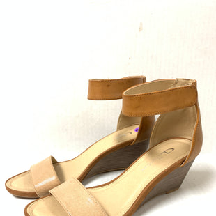Primary Photo - BRAND: LAUNDRY STYLE: SANDALS LOW COLOR: TAN SIZE: 8 OTHER INFO: AS IS SKU: 150-15098-36041