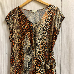 Primary Photo - BRAND: CHENAULT STYLE: TOP SLEEVELESS COLOR: ANIMAL PRINT SIZE: XL SKU: 150-150135-3055