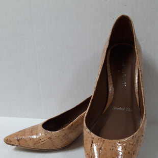 Primary Photo - BRAND: DONALD J PILNER STYLE: SHOES DESIGNER COLOR: BEIGE SIZE: 7 OTHER INFO: CORK/ AS IS 2 INCH HEEL SKU: 150-15047-150239