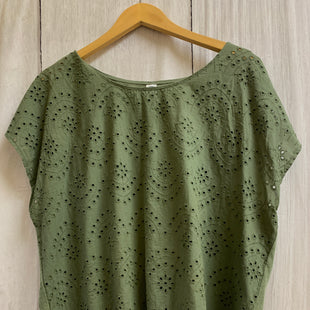 Primary Photo - BRAND: OLD NAVY STYLE: TOP SHORT SLEEVE BASIC COLOR: OLIVE SIZE: XL SKU: 150-15098-36861