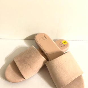 Primary Photo - BRAND: A NEW DAY STYLE: SANDALS FLAT COLOR: LIGHT PINK SIZE: 7 SKU: 150-150112-22078SUEDE