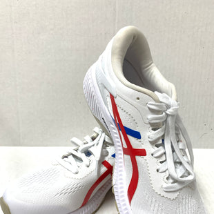 Primary Photo - BRAND: ASICS STYLE: SHOES ATHLETIC COLOR: WHITE RED BLUE SIZE: 9.5 SKU: 150-150119-10288