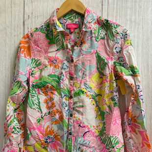 Primary Photo - BRAND: TARGET-DESIGNER STYLE: TOP LONG SLEEVE COLOR: MULTI SIZE: PETITE   SMALL OTHER INFO: LILLY PULITZER/AS IS SKU: 150-15098-36409
