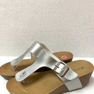 Primary Photo - BRAND:    CLOTHES MENTOR STYLE: SANDALS LOW COLOR: GREY SIZE: 9 OTHER INFO: CHARLES ALBERT - SKU: 150-15047-142364