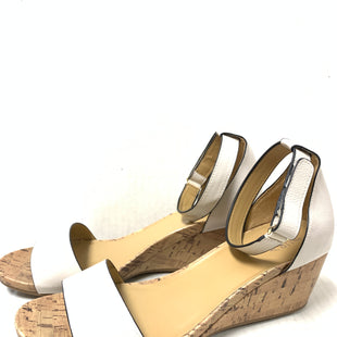 Primary Photo - BRAND: NATURALIZER STYLE: SANDALS LOW COLOR: BEIGE SIZE: 11 SKU: 150-150112-24982AS ISTINY WHITE SPOT ON BACK OF HEEL2 1/2 INCHES