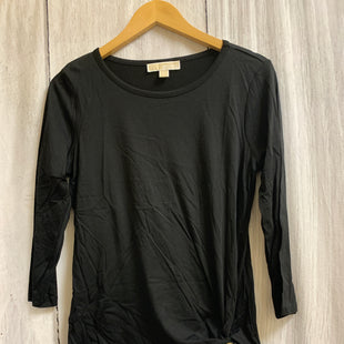 Primary Photo - BRAND: MICHAEL BY MICHAEL KORS STYLE: TOP LONG SLEEVE COLOR: BLACK SIZE: M SKU: 150-15098-39332