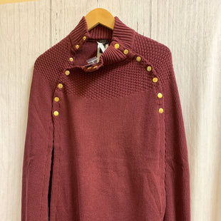 Primary Photo - BRAND:    CLOTHES MENTOR STYLE: PONCHO COLOR: BURGUNDY SIZE: XS OTHER INFO: GOT IT LOVE IT  - SKU: 150-150131-11733