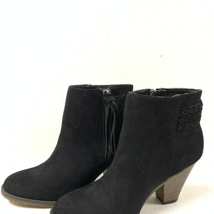 Primary Photo - BRAND: MIA STYLE: BOOTS ANKLE COLOR: BLACK SIZE: 7 SKU: 150-150135-35293 1/2 INCHES