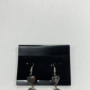 Primary Photo - BRAND:    CLOTHES MENTOR STYLE: EARRINGS COLOR: SILVER SIZE: 1 OTHER INFO: HEART + PEACE SIGN SKU: 150-15047-149377