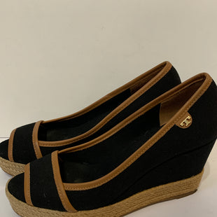 Primary Photo - BRAND: TORY BURCH STYLE: SHOES DESIGNER COLOR: BLACK SIZE: 6.5 OTHER INFO: AS IS SKU: 150-150119-98063 1/2 INCHES