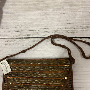 Primary Photo - BRAND:    CLOTHES MENTOR STYLE: CLUTCH COLOR: BROWN OTHER INFO: PATCHINGTON - SKU: 150-15047-139538