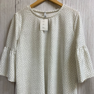 Primary Photo - BRAND: ACTING PRO STYLE: TOP LONG SLEEVE COLOR: POLKADOT SIZE: 2X SKU: 150-150112-21414