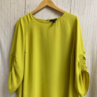 Primary Photo - BRAND: ALFANI STYLE: TOP LONG SLEEVE COLOR: CHARTREUSE SIZE: 1X SKU: 150-15047-137967
