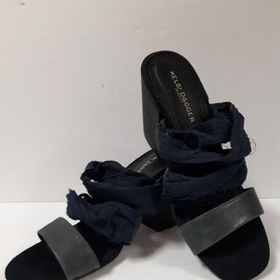 Primary Photo - BRAND: KELSI DAGGER STYLE: SHOES DESIGNER COLOR: NAVY SIZE: 7.5 OTHER INFO: DISTRESSED FABRIC SKU: 150-15047-146782