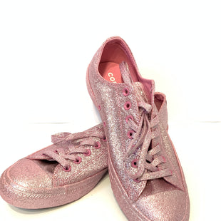Primary Photo - BRAND: CONVERSE STYLE: SHOES FLATS COLOR: PINK SIZE: 11.5 OTHER INFO: SPARKLY SKU: 150-15047-148196