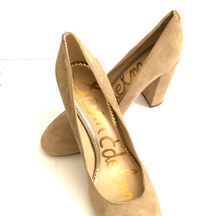 Primary Photo - BRAND: SAM EDELMAN STYLE: SHOES DESIGNER COLOR: TAN SIZE: 9.5 SKU: 150-15047-145575SUEDE4 INCHES